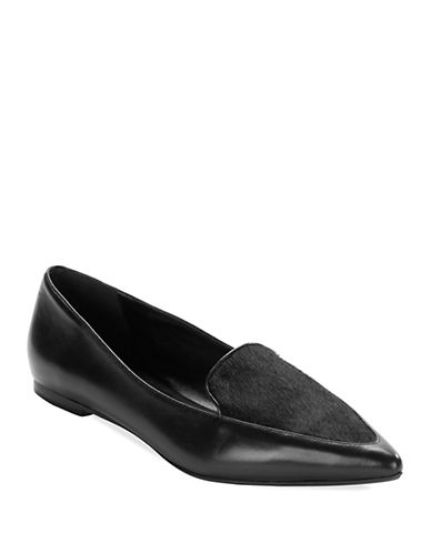 DUNE LONDON Austine Pony Hair Loafers