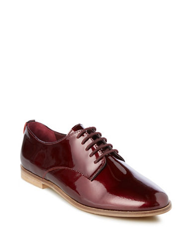 Buy Flossy Round Toe Lace-Up Shoes by Dune London online