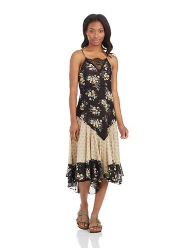 FREE PEOPLEFloral Print Slip Dress