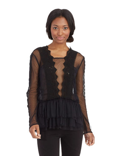 FREE PEOPLEMemories Lace Top