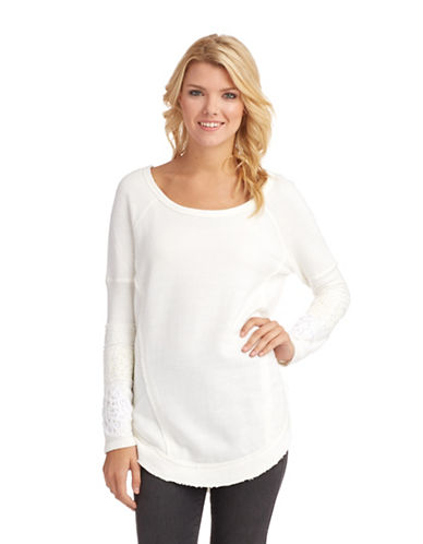 FREE PEOPLEYou Don't Know Me Tunic Top