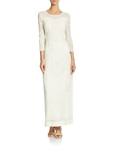 FREE PEOPLEEmbroidered Lace Maxi Dress
