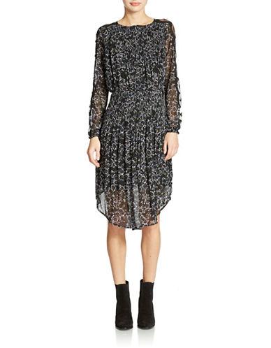 FREE PEOPLECharlotte Floral Semi Sheer Midi Dress
