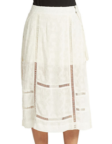 Free People Love Will Save You Midi Skirt image
