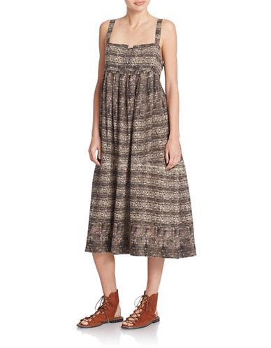 FREE PEOPLEPrinted Midi Dress