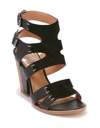 DV BY DOLCE VITA Poppi Leather Heeled Sandals