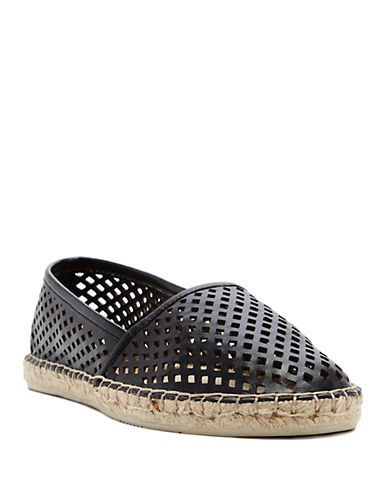 DOLCE VITA Perforated Espadrille Flats