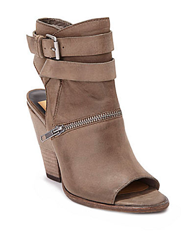 DOLCE VITANayla Leather Open-Toe Cutout Ankle Boots