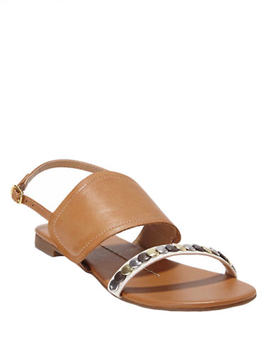 DV BY DOLCE VITADixan Studded Leather Slingback Sandals