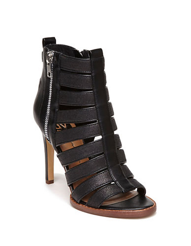 DV BY DOLCE VITA Shani Leather Open-Toe Gladiator Sandals