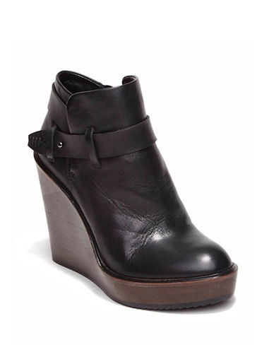 DOLCE VITAColie Leather Wedge Booties