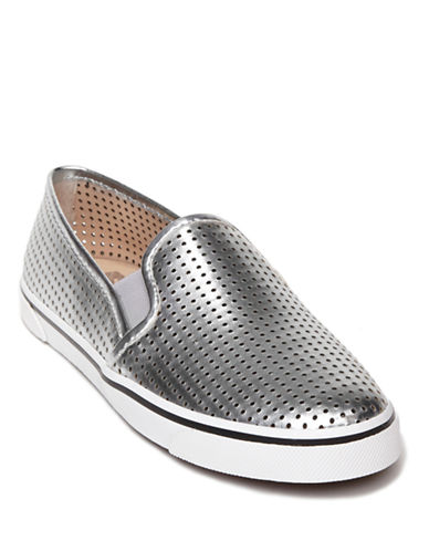 DV BY DOLCE VITA Gibsin Perforated Slip-On Sneakers