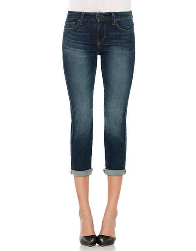 JOE'S JEANSRolled Straight-Leg Cropped Jeans