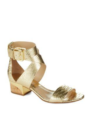 Michael Kors Tulia Metallic Sandals