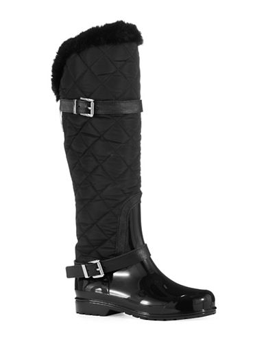 MICHAEL MICHAEL KORSFulton Faux Fur-Lined Quilted Rainboots