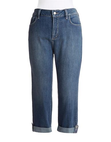 Nydj Plus Plus Cropped Jeans