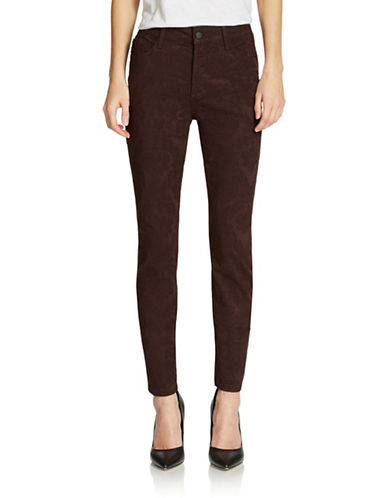 NYDJAlina Floral Jacquard Skinny Jeans