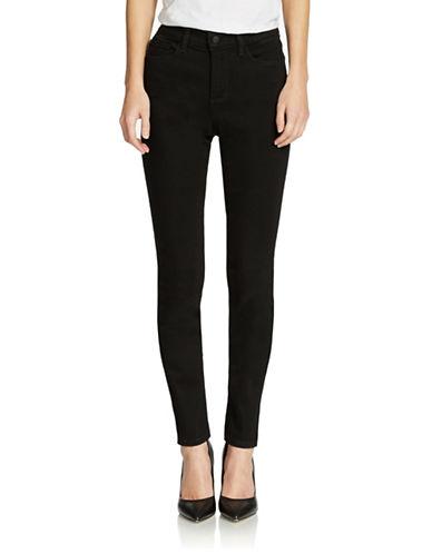 NYDJSamantha Sequin Stripe Slim Straight Leg Jean
