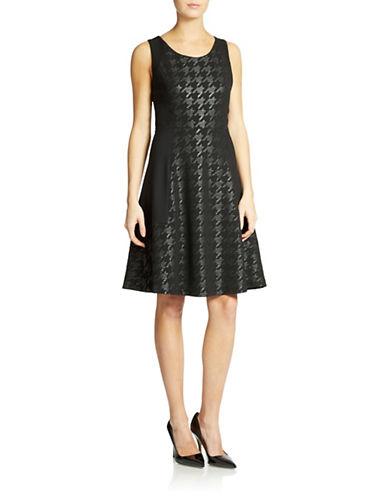 NYDJHoundstooth-Patterned Dress
