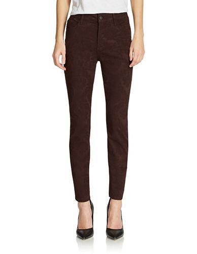 NYDJPetite Alina Floral Jacquard Skinny Jeans