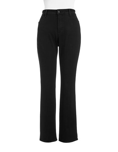 Nydj Plus Plus Marilyn Straight Leg Jeans