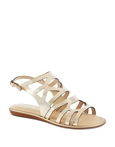 KATE SPADE NEW YORKAster Metallic Sandals