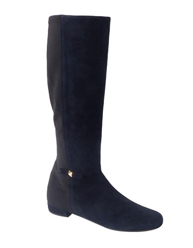 Shop Kate Spade New York online and buy Kate Spade New York Olivia Leather and Elastic Boots shoes online