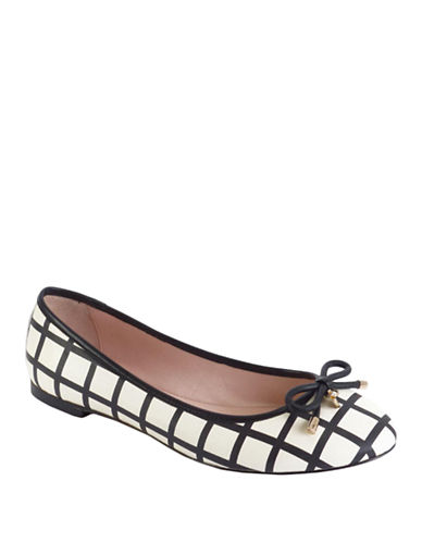 Kate Spade New York Willa Printed Leather Flats