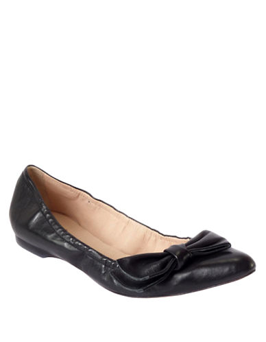 KATE SPADE NEW YORK Suki Leather Flats
