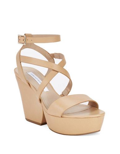 DIANE VON FURSTENBERGLamille Leather Platform Sandals