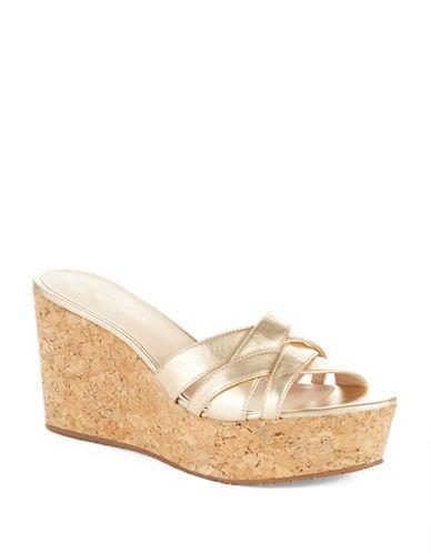 KATE SPADE NEW YORKTalcott Leather Platform Sandals