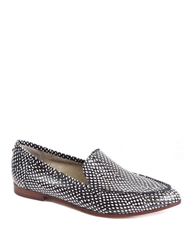 KATE SPADE NEW YORK Carima Embossed Leather Loafers