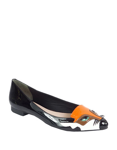 KATE SPADE NEW YORK Ericka Patent Leather Flats