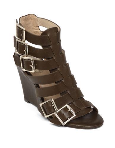 VINCE CAMUTOMartez Leather Gladiator Wedge Sandals