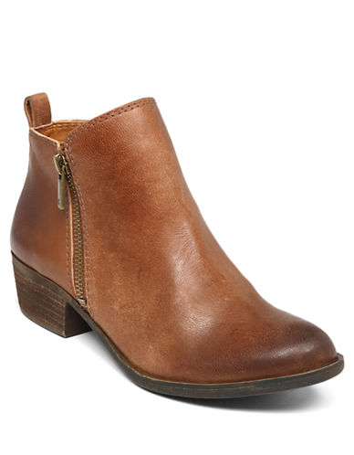 LUCKY BRAND Basel Zip Up Ankle Booties
