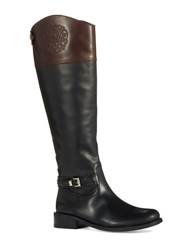 VINCE CAMUTO Kable Wide Calf Riding Boots