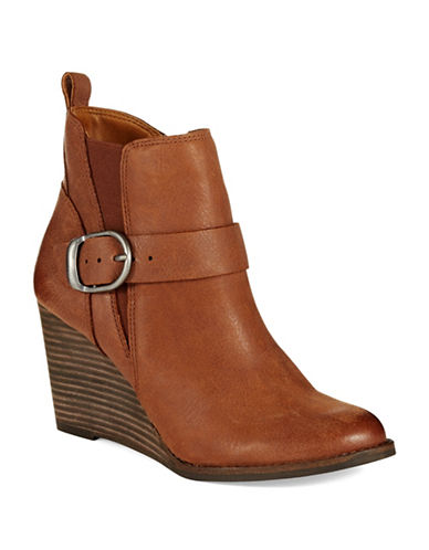 LUCKY BRAND Yiski Wedge Boots