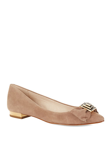 LOUISE ET CIESuede Pointy Toe Flats