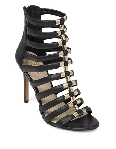 VINCE CAMUTOTroy Leather Strappy Open-Toe Sandals