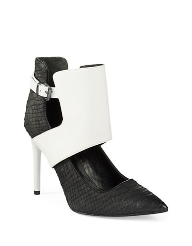KENNETH COLE NEW YORK Bonnet Colorblock Heels
