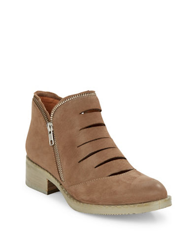 Buy Bailey Nubuck Leather Booties by Gentle Souls online