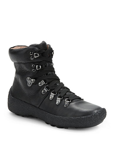 Buy Carlisle Leather Lace-Up Boots by Gentle Souls online