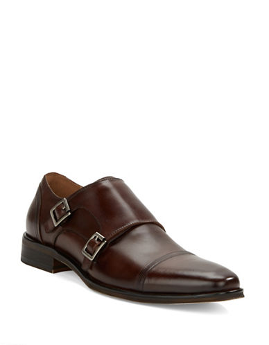 KENNETH COLE REACTIONSub-Let Leather Monk Strap Loafers