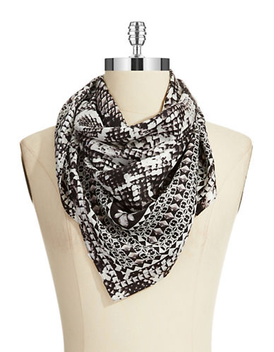 BCBGMAXAZRIASerpent and Jewels Square Scarf