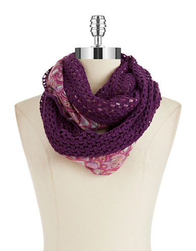 COLLECTION 18 Reversible Infinity Scarf
