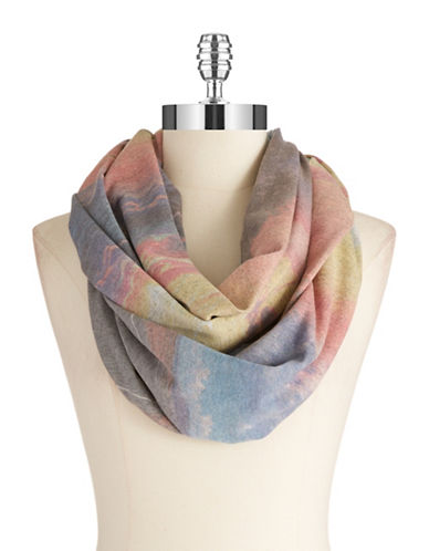 COLLECTION 18 Watercolor Patterned Infinity Scarf