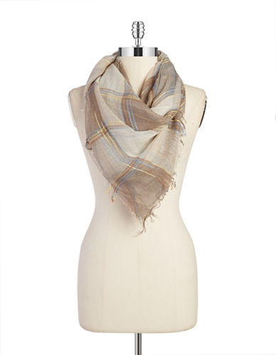 COLLECTION 18 Checkered Square Scarf
