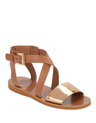 MARC FISHER LTD Danae Leather Sandals