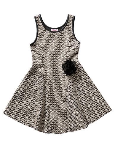 BLOOMEGirls 7-16 Sleeveless Knit Dress