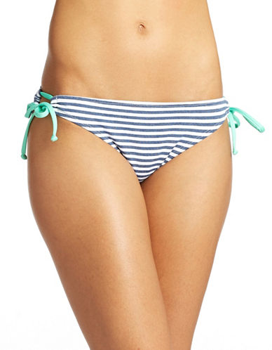 SPLENDIDStriped Side-Tie Tunnel Bikini Bottom
